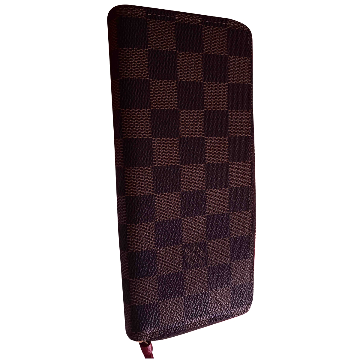 Louis Vuitton Clemence Brown Cloth wallet for Women \N