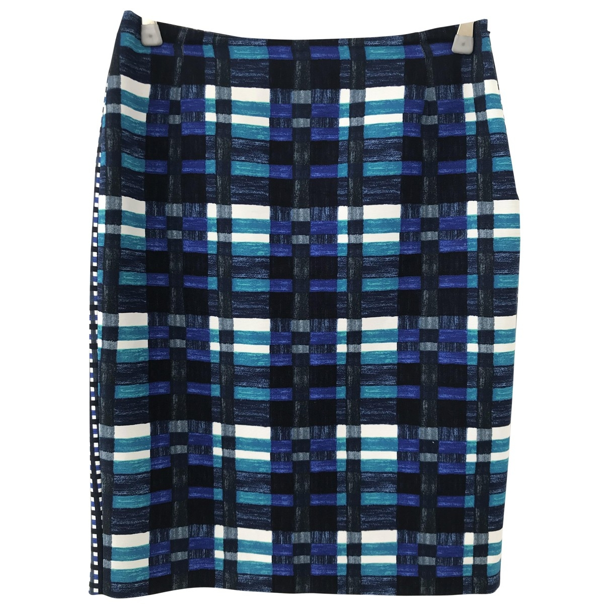 Max Mara Weekend \N Blue Cotton skirt for Women 40 IT