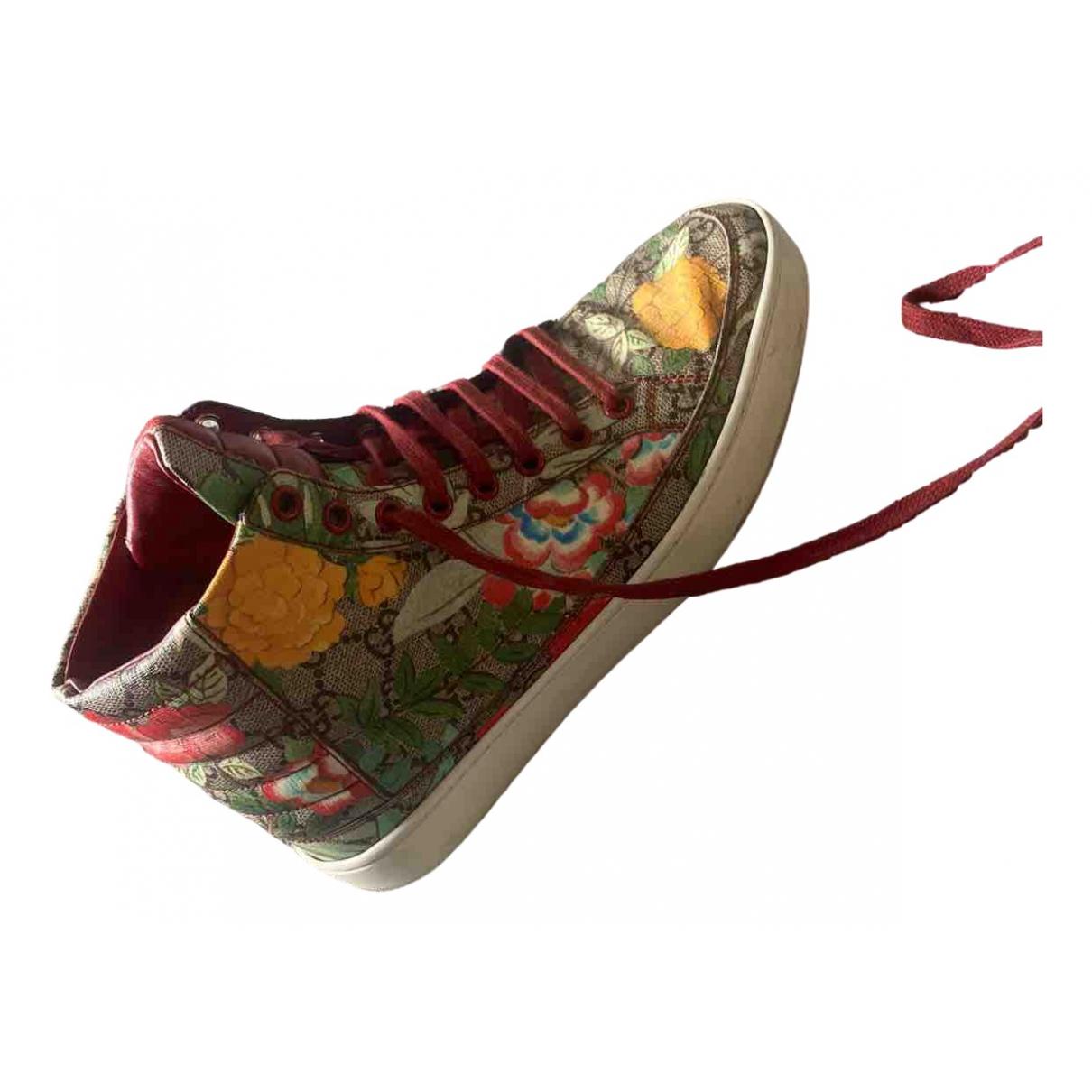 Gucci - Baskets   pour homme en toile - multicolore