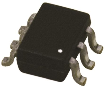 DiodesZetex Diodes Inc DT2636-04S-7, Quad-Element Uni-Directional TVS Diode Array, 60W, 6-Pin SOT-363 (SC-88) (50)