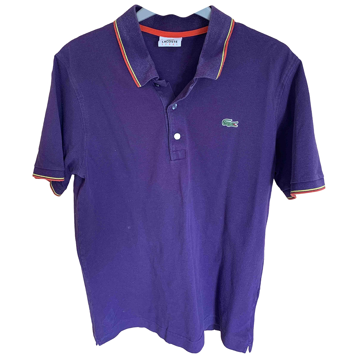 Lacoste \N Poloshirts in  Lila Baumwolle