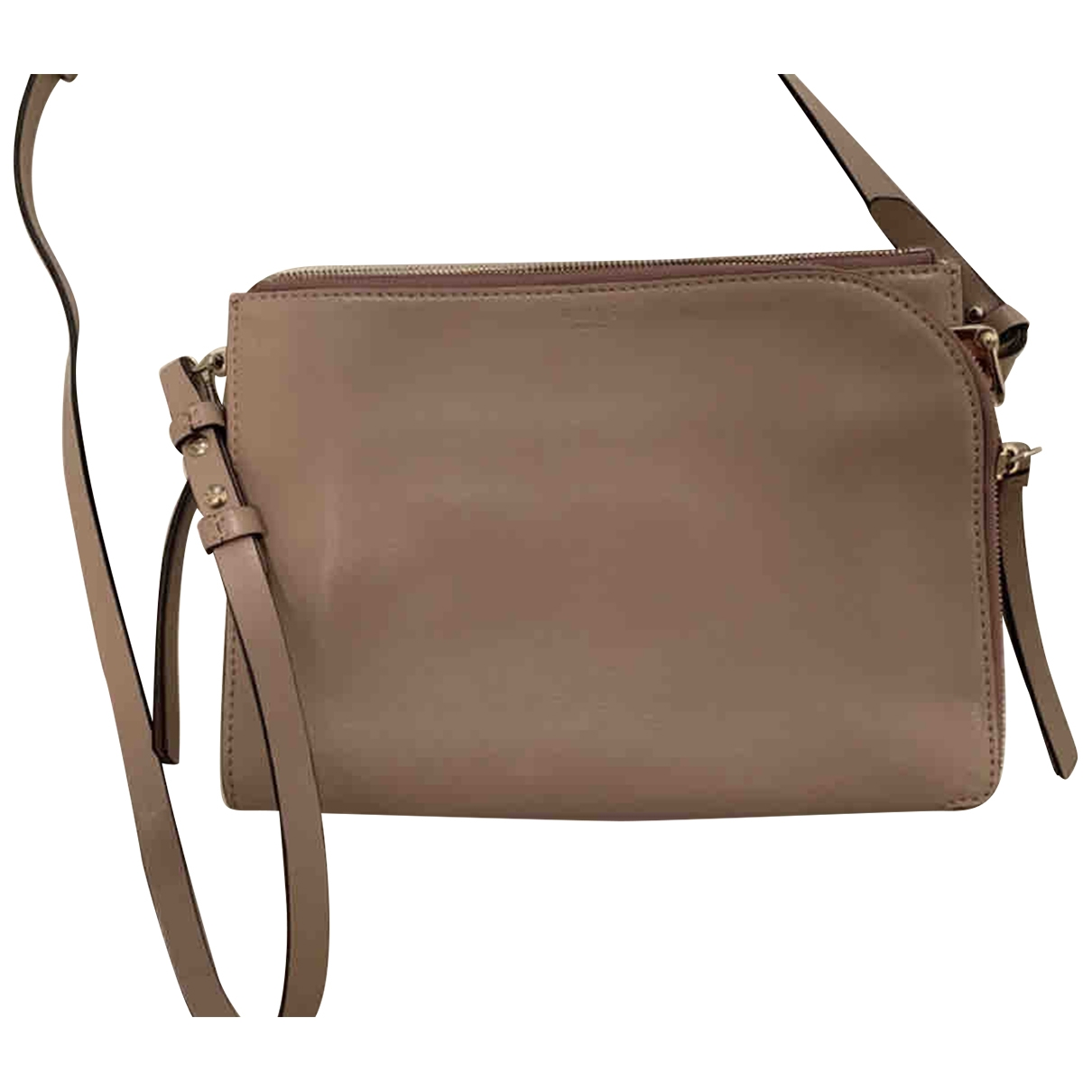 Reiss \N Pink Leather handbag for Women \N