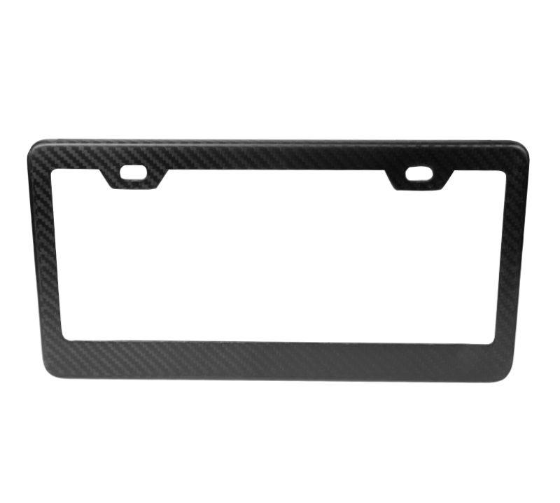 NRG CARB-P100M Carbon Fiber License Plate Frame Matte Dry