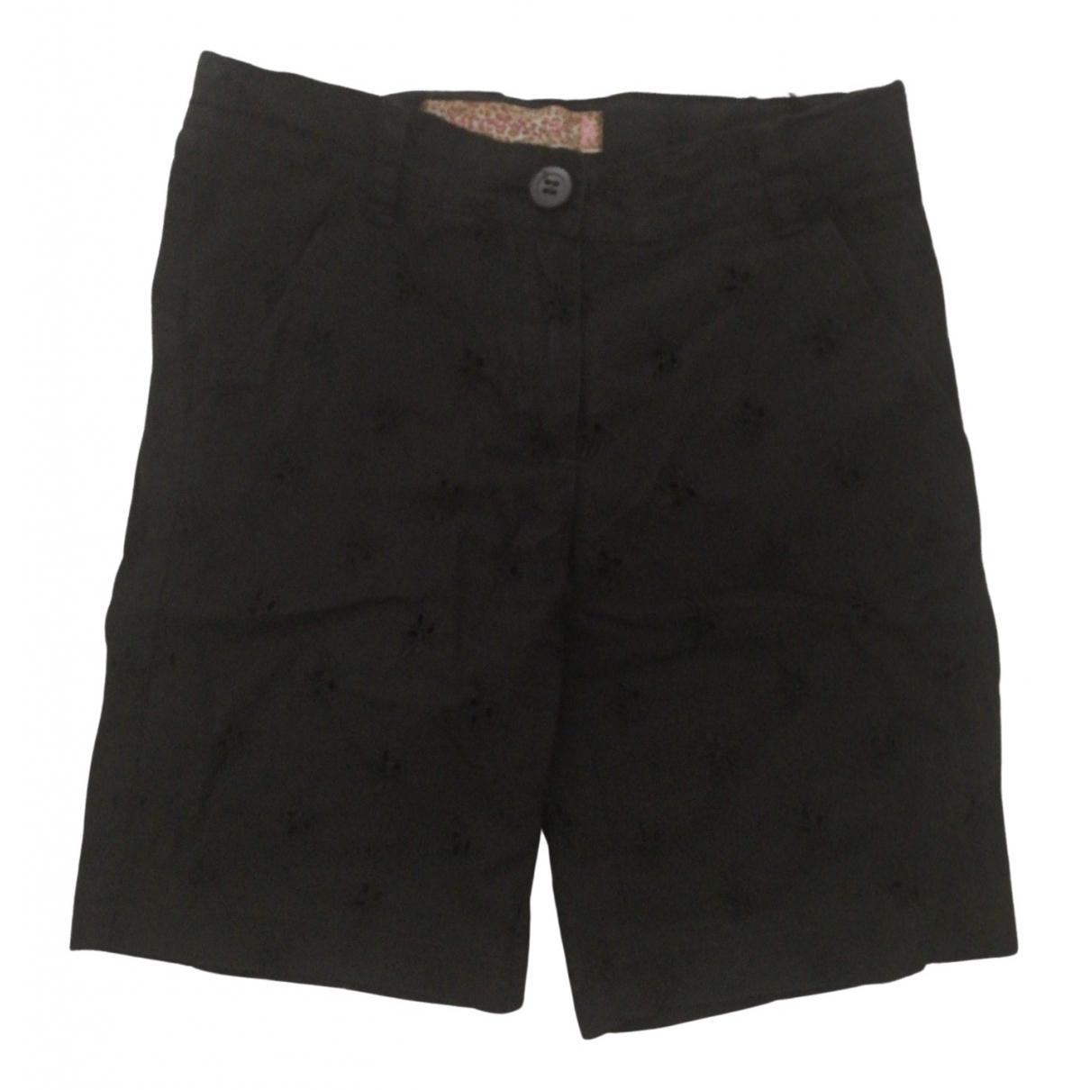 Monnalisa - Pantalon   pour enfant en coton - noir