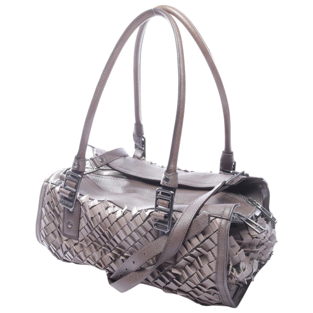 Burberry N Brown Leather handbag for Women N