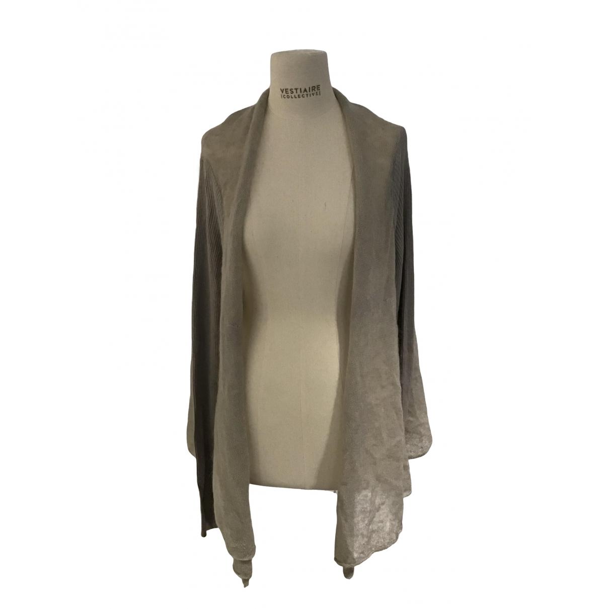Emporio Armani - Pull   pour femme en coton - beige