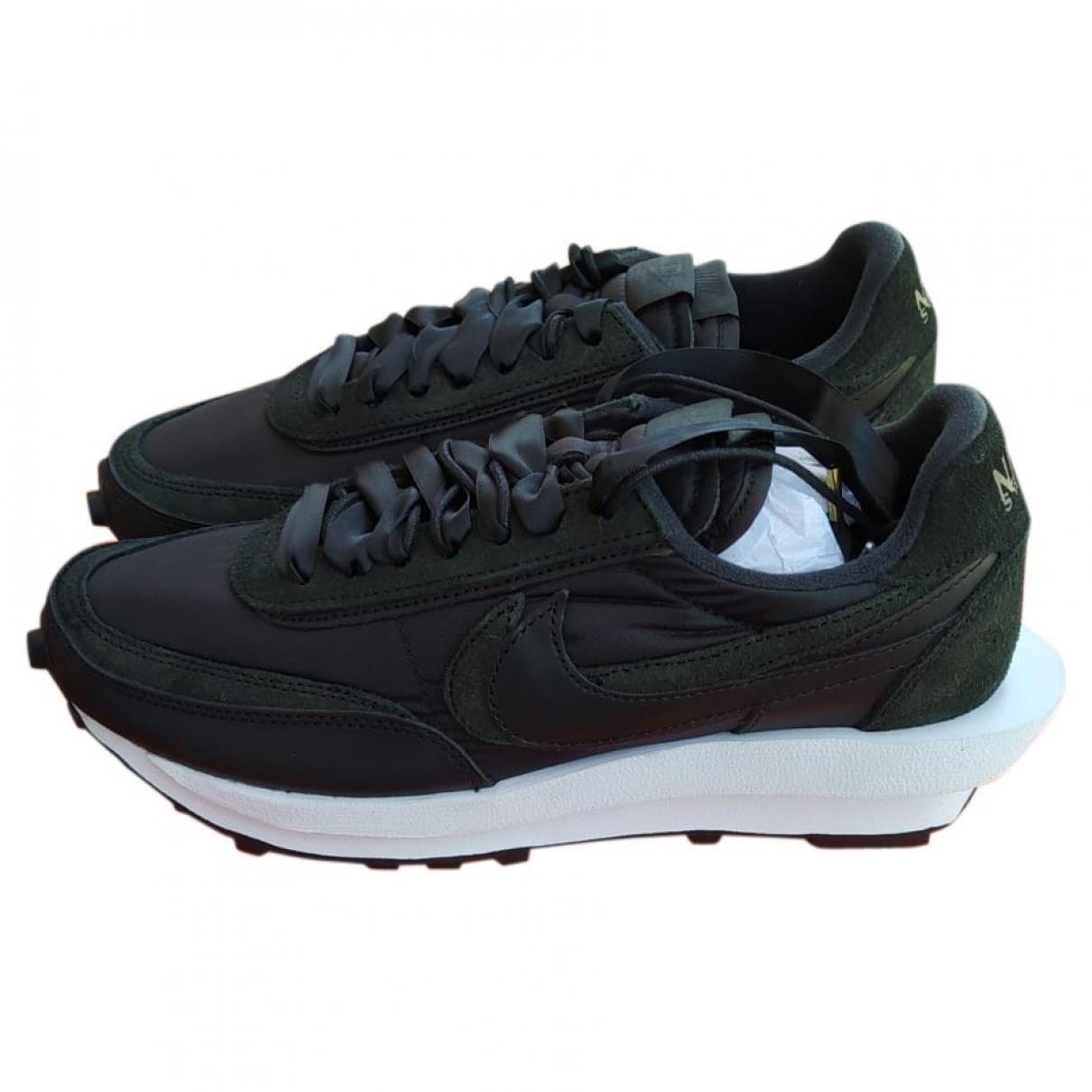 Nike X Sacaï LDV Waffle Black Trainers for Men 42.5 EU