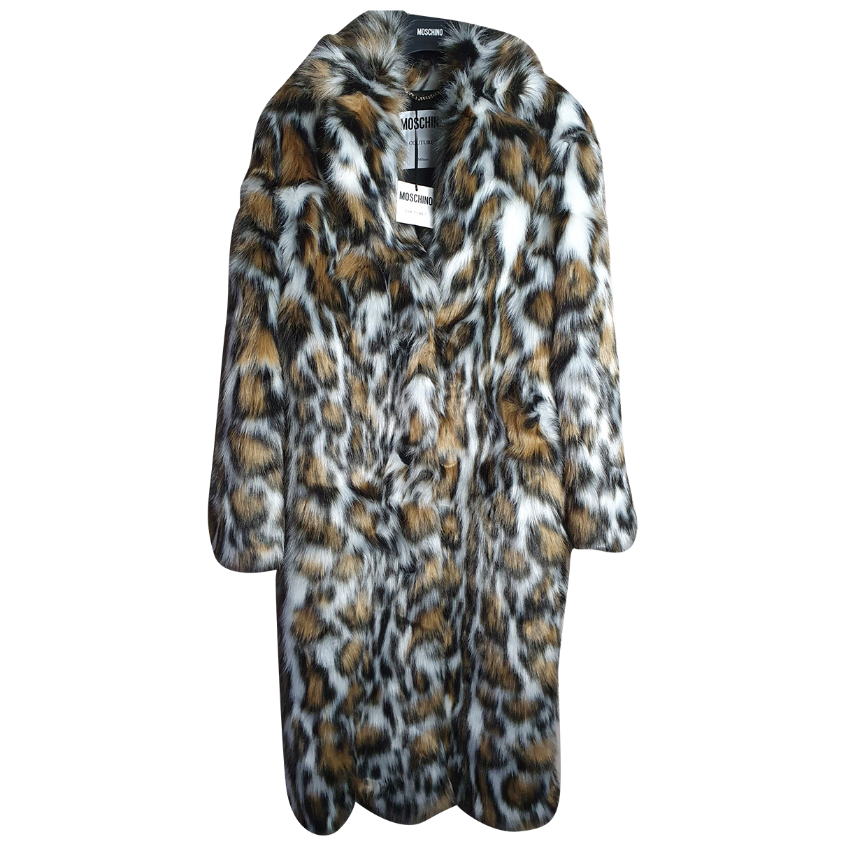 Moschino \N Multicolour Faux fur coat for Women 36 IT