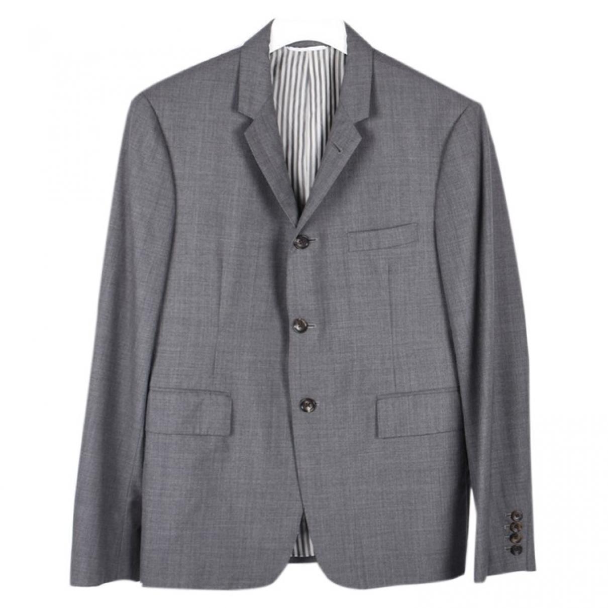 Thom Browne \N Grey Wool jacket  for Men 3 0 - 6