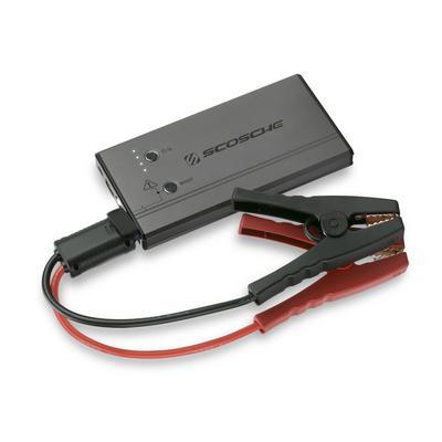 Scosche Portable Car Jump Starter / USB Power Bank with LED Flashlight - PBJ300-1