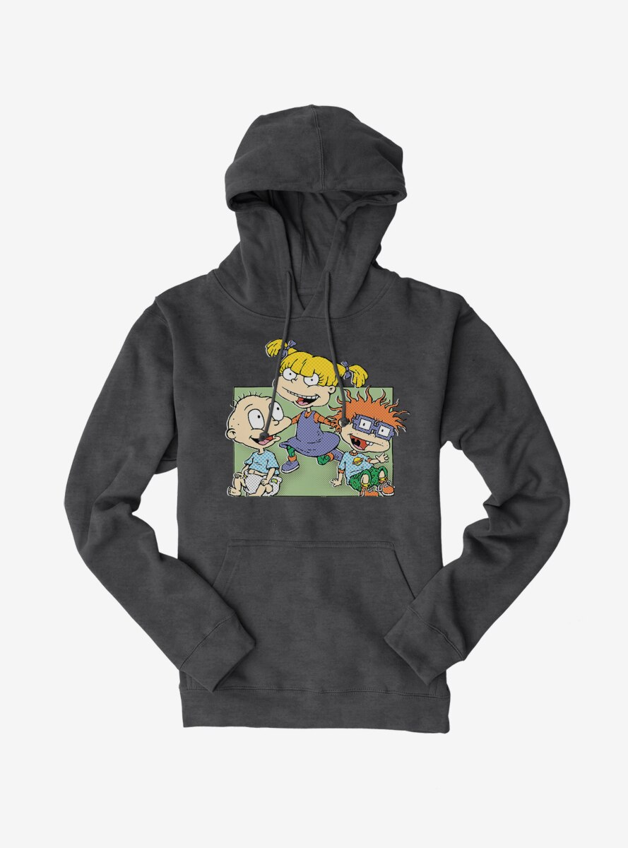 Rugrats Angelica Tommy And Chuckie Hoodie