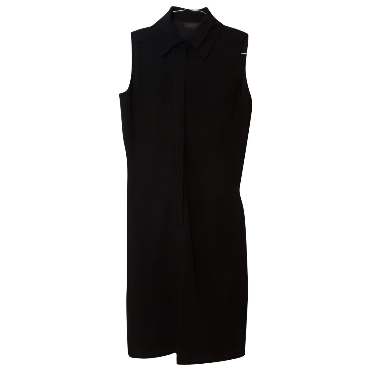 Calvin Klein \N Kleid in  Schwarz Wolle