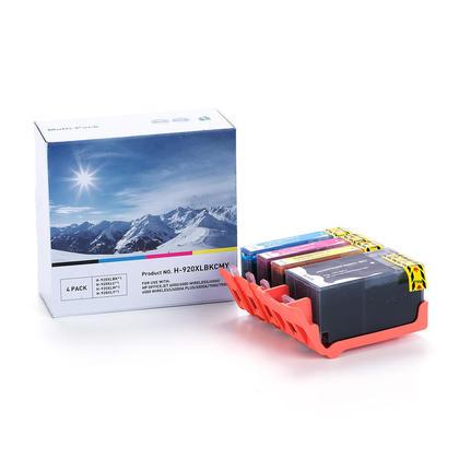 Compatible HP 920XL cartouche d'encre combo haute capacite BK/C/M/Y - boite economique