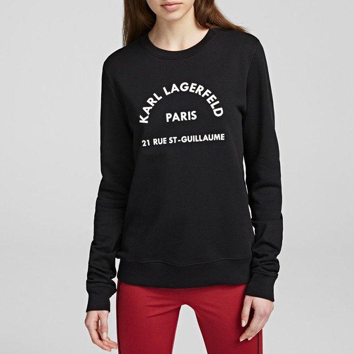 Karl Lagerfeld Address Logo Sweat 201W1801 999