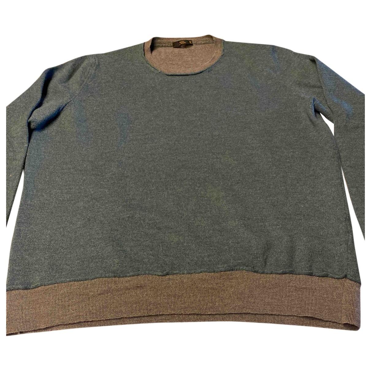 Mauro Grifoni \N Pullover.Westen.Sweatshirts  in  Gruen Wolle
