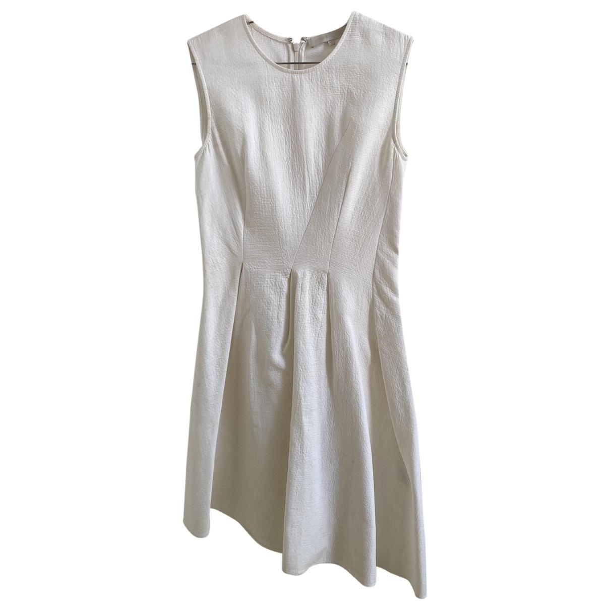 Vanessa Bruno \N Ecru Linen dress for Women 34 FR