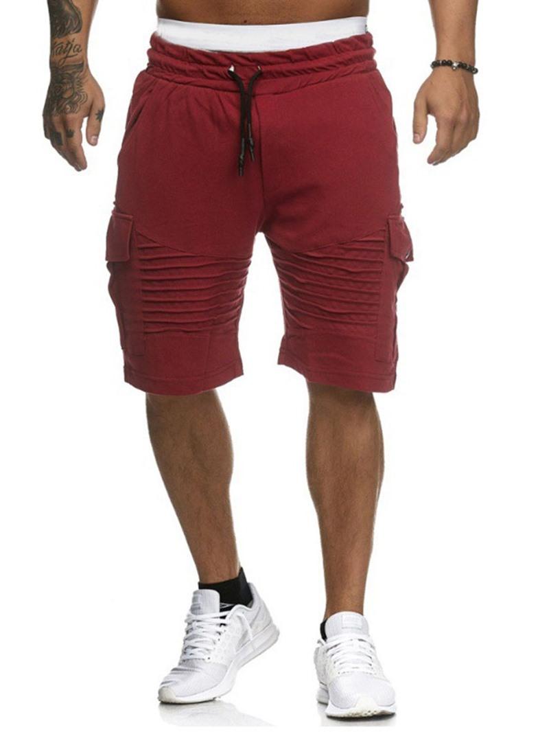 Ericdress Loose Harem Plain Low Waist Casual Men's Shorts
