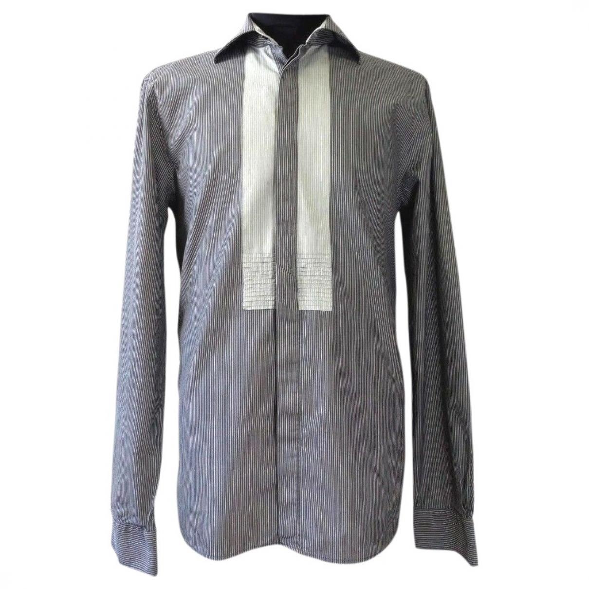 Day Birger & Mikkelsen \N Grey Cotton Shirts for Men M International