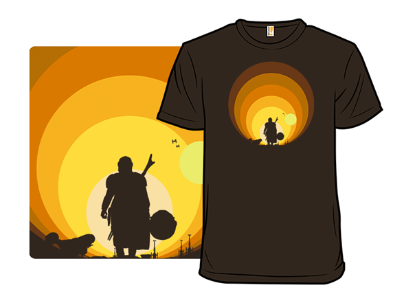 The Hunter And Child T Shirt