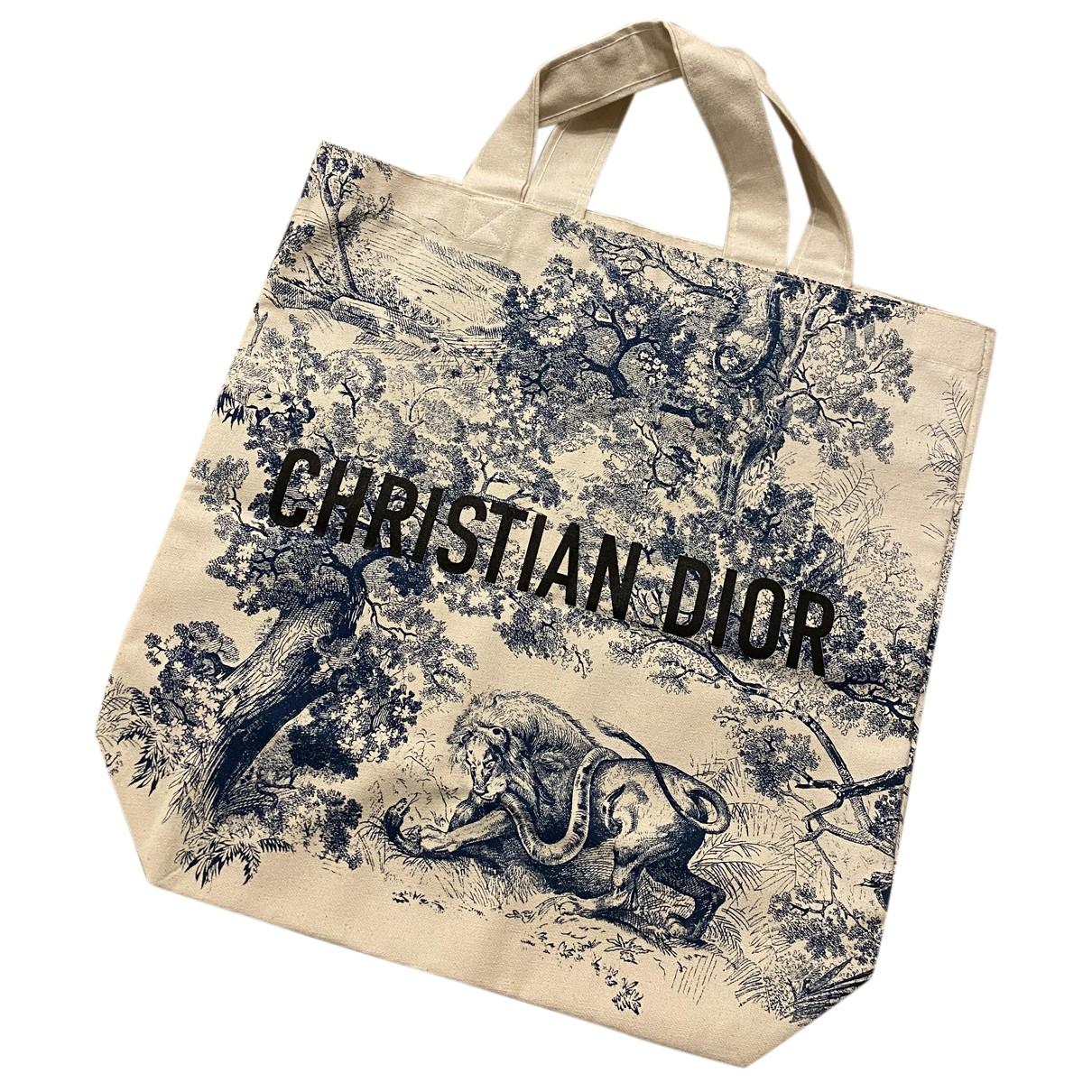 Dior Diorodeo Blue Cloth handbag for Women N
