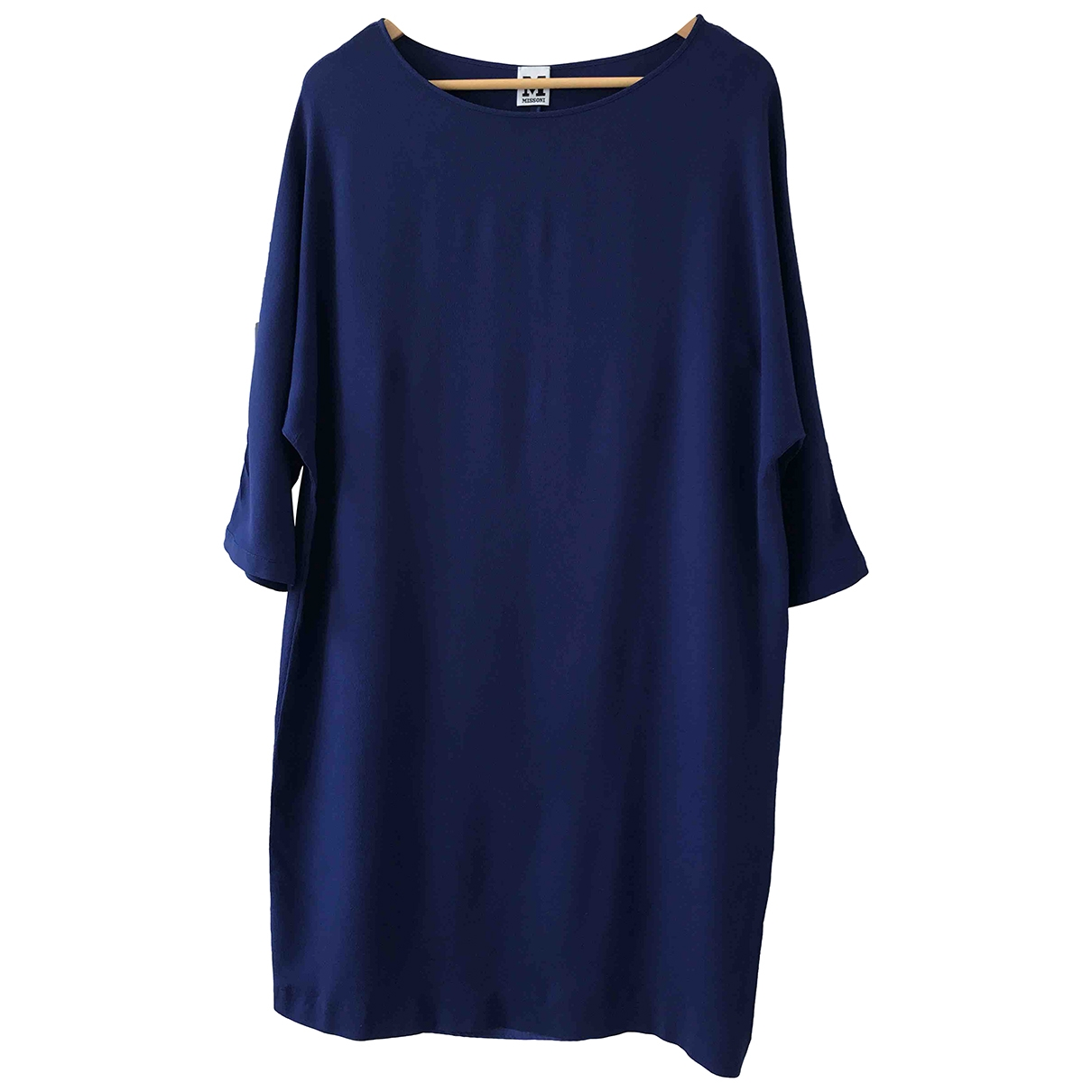 M Missoni - Robe   pour femme - bleu