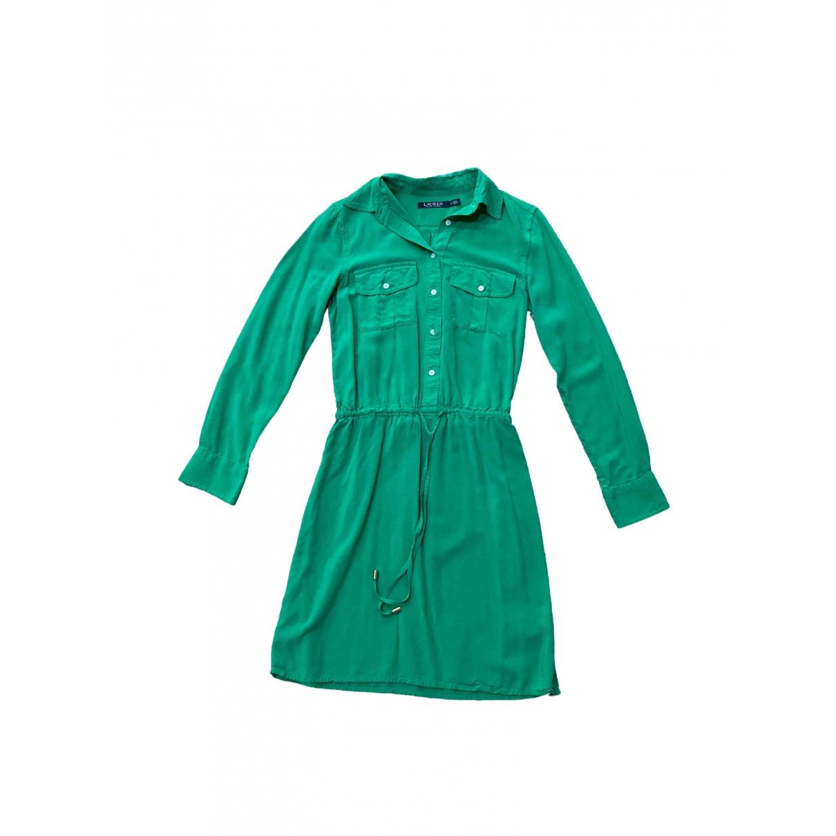 Lauren Ralph Lauren \N Kleid in  Gruen Viskose