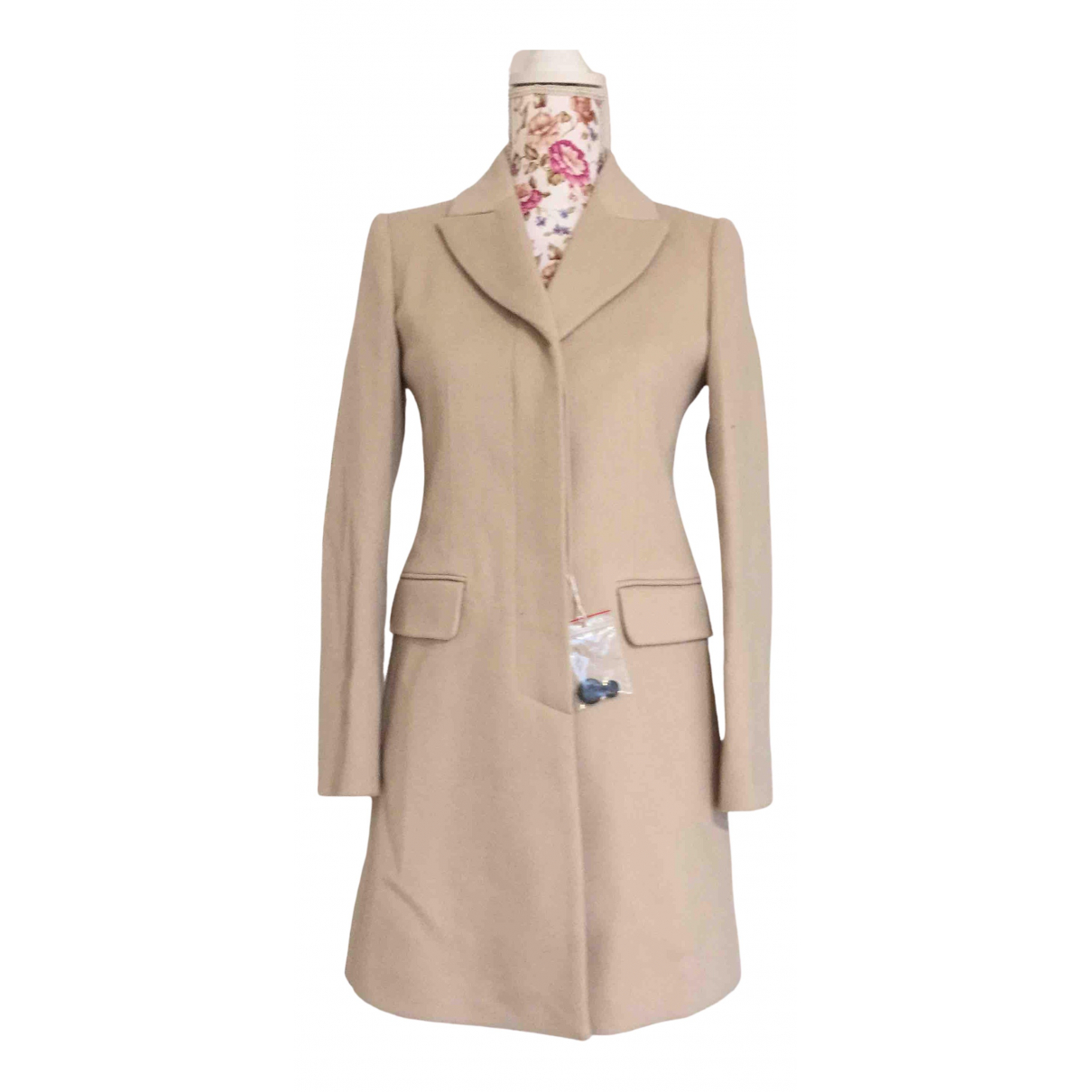 Max & Co N Beige Wool coat for Women XS International