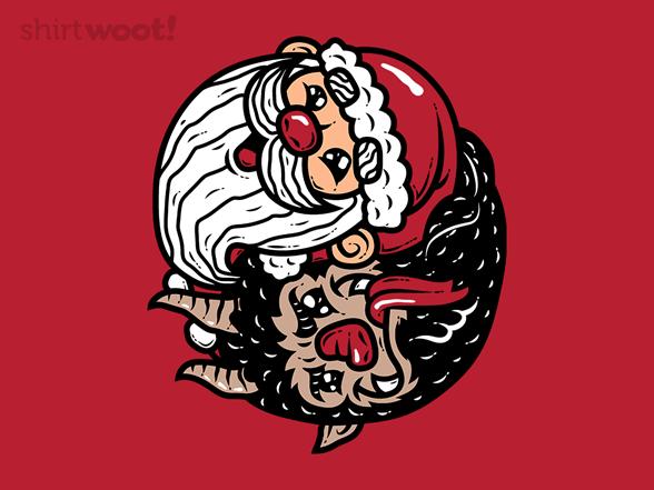 Christmas Yin & Yang T Shirt