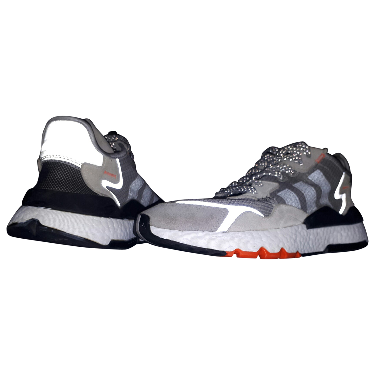 Adidas \N Sneakers in  Grau Leinen