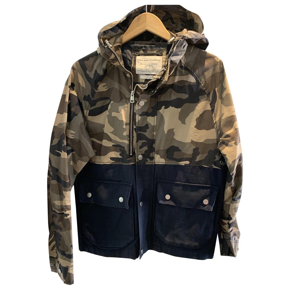 Zara - Vestes.Blousons   pour homme en coton - multicolore