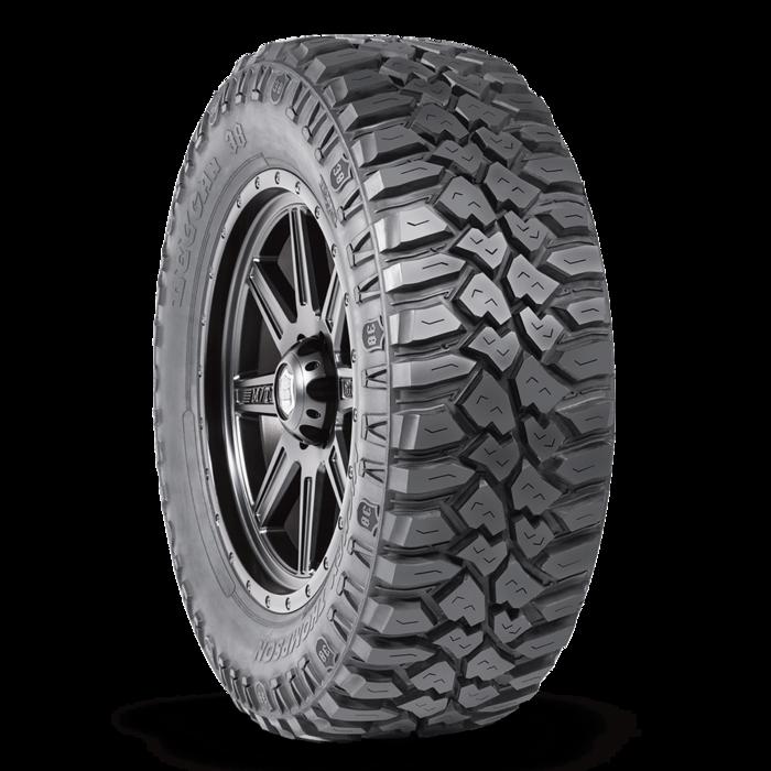 Deegan 38 Mud Radial LT305/65R17 17.0 Inch Rim Dia 32.6 Inch OD Mickey Thompson 90000021041