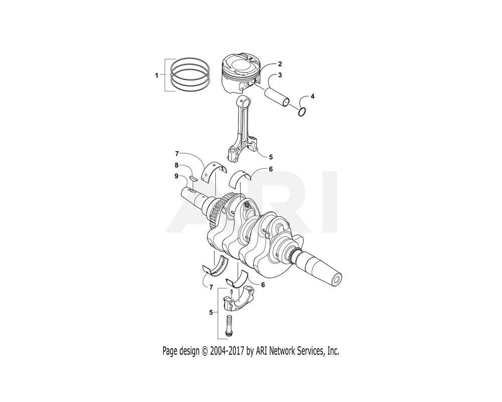 Arctic Cat OEM 3306-994 Pin Piston