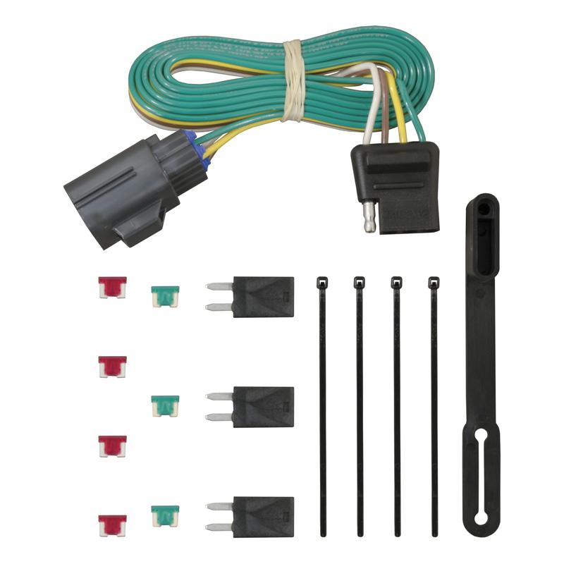 Curt 56245 Custom Wiring Connector (4-Way Flat Output)