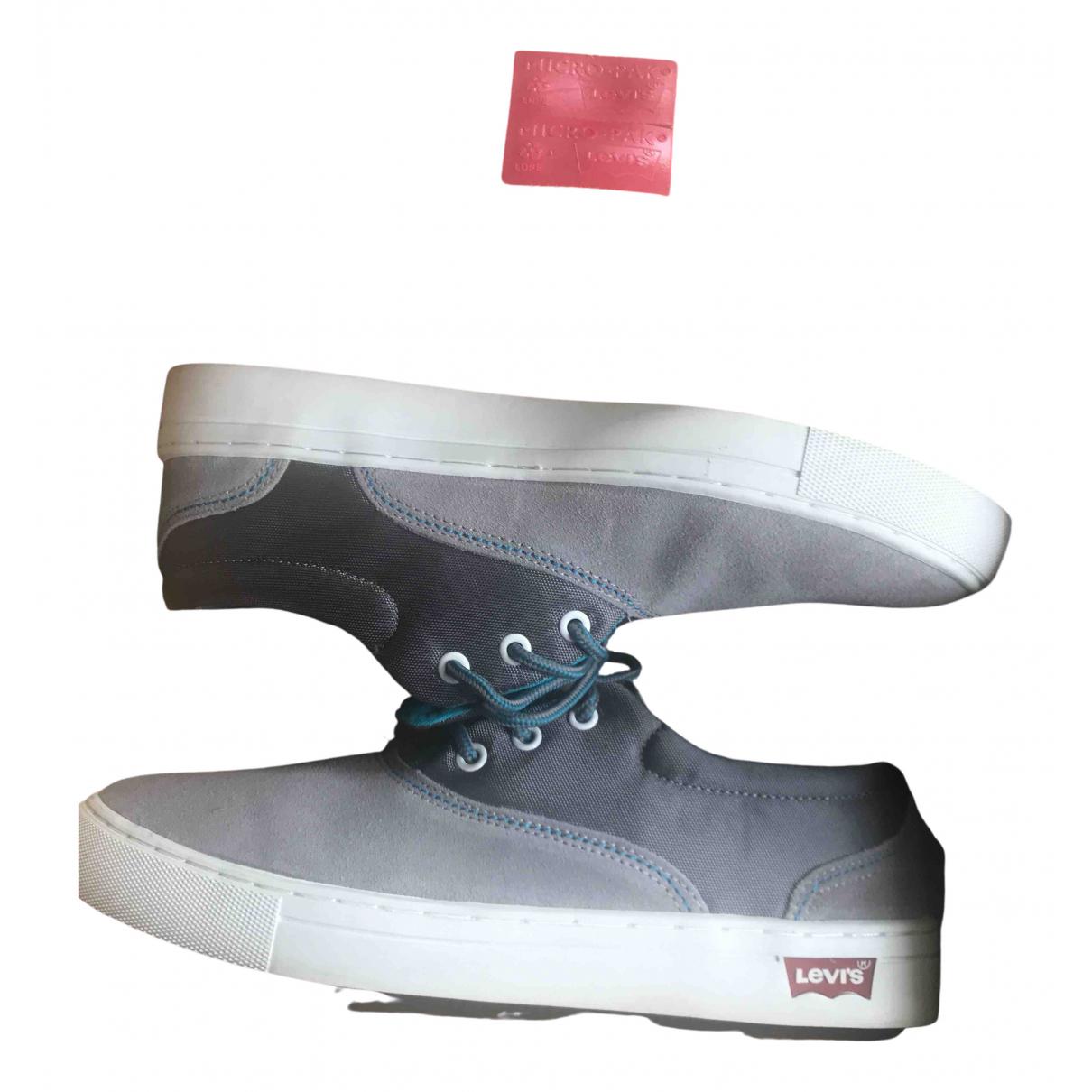 Levis \N Sneakers in  Grau Leinen