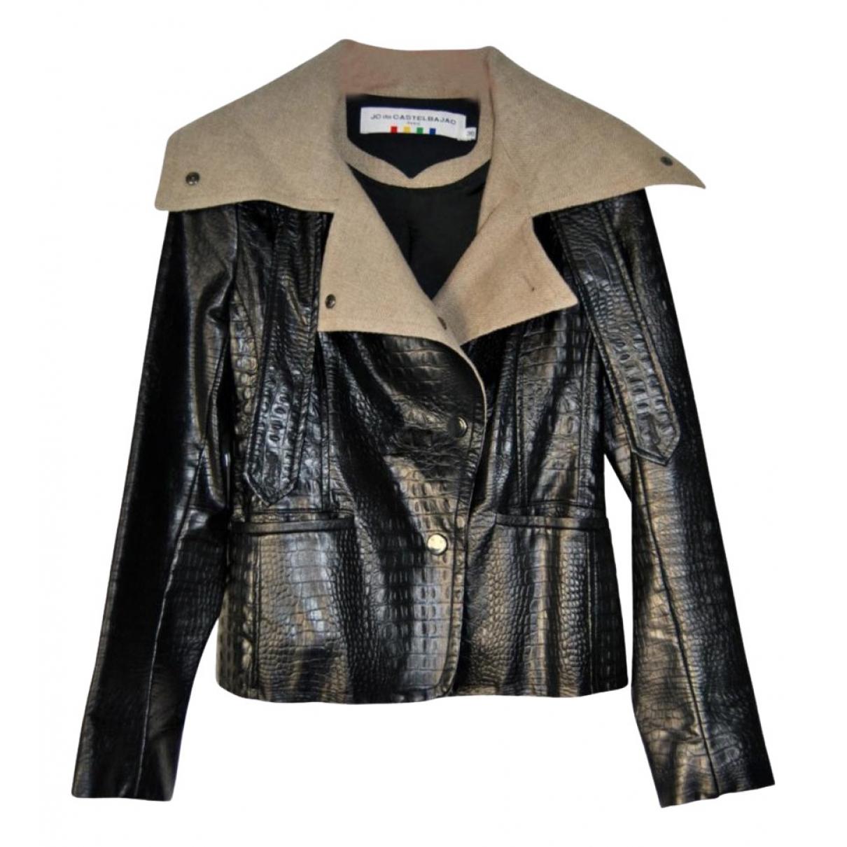 Jc De Castelbajac \N Black jacket for Women 36 FR