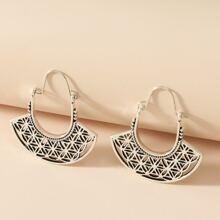 Ohrringe mit Hohlventilator Design