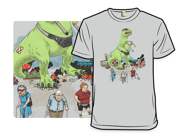 Grandpa Rex T Shirt