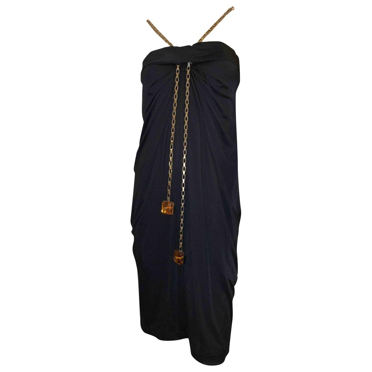 Dsquared2 - Robe   pour femme en coton - noir