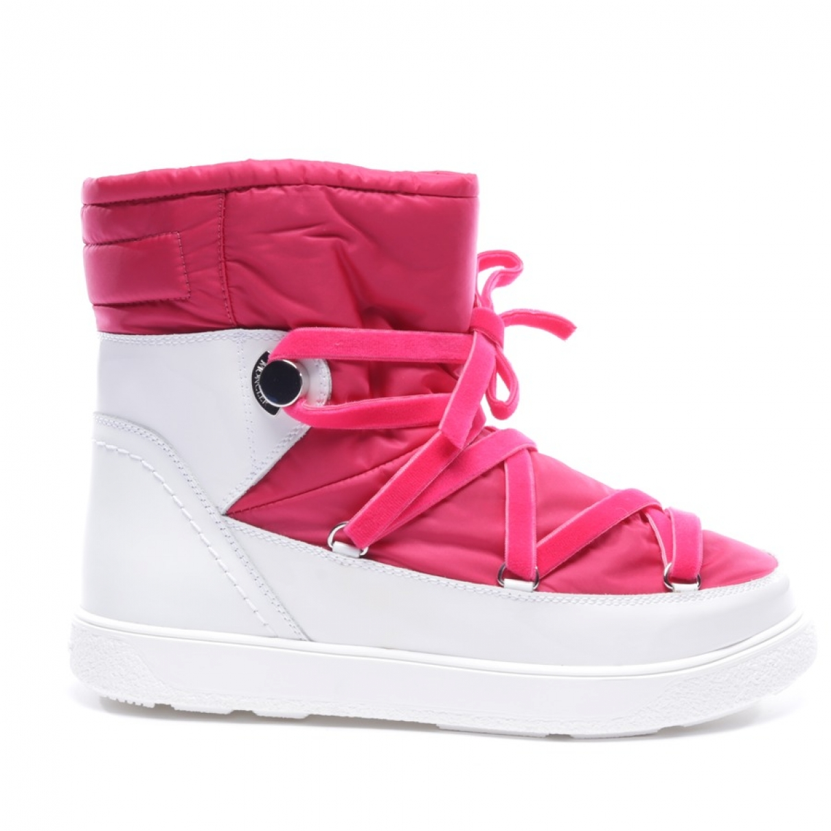 Moncler \N Pink Ankle boots for Women 40.5 EU