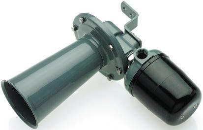 Moflash Grey Electromechanical Horn, 115 V ac Supply Voltage, 120dB at 1 Metre