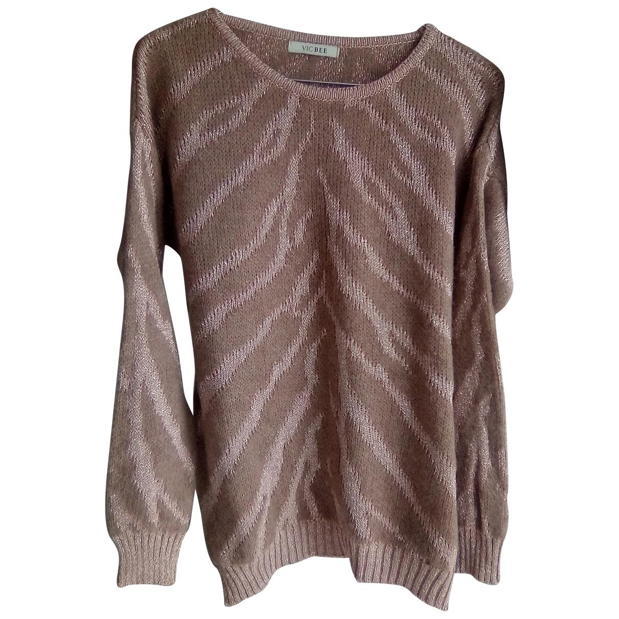 Non Signé / Unsigned \N Beige Wool Knitwear for Women 42 IT