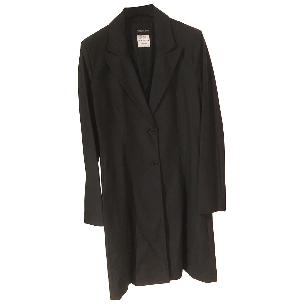 Patrizia Pepe - Robe   pour femme en laine - anthracite