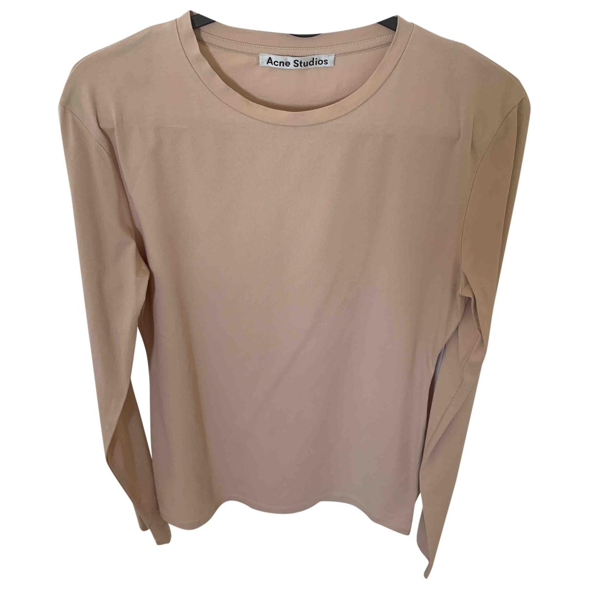 Acne Studios \N Pink Cotton  top for Women M International