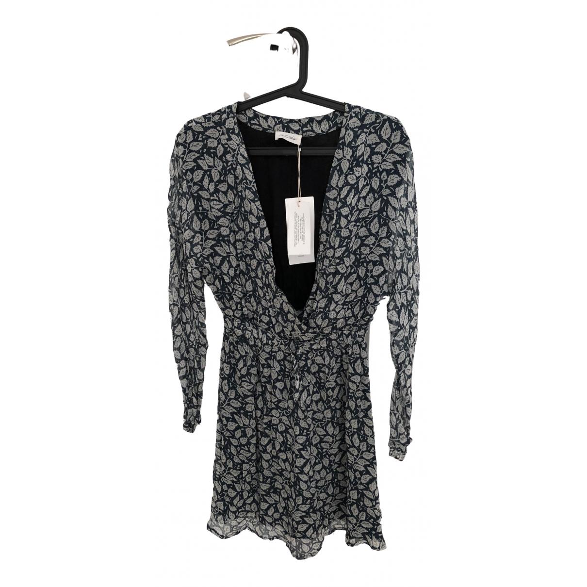 American Vintage \N Kleid in  Blau Viskose