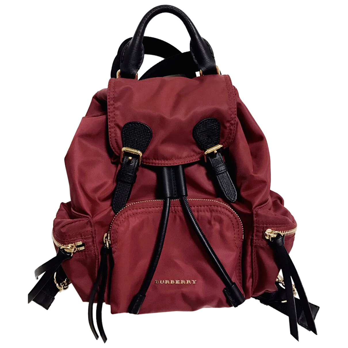 Burberry The Rucksack Burgundy backpack for Women \N