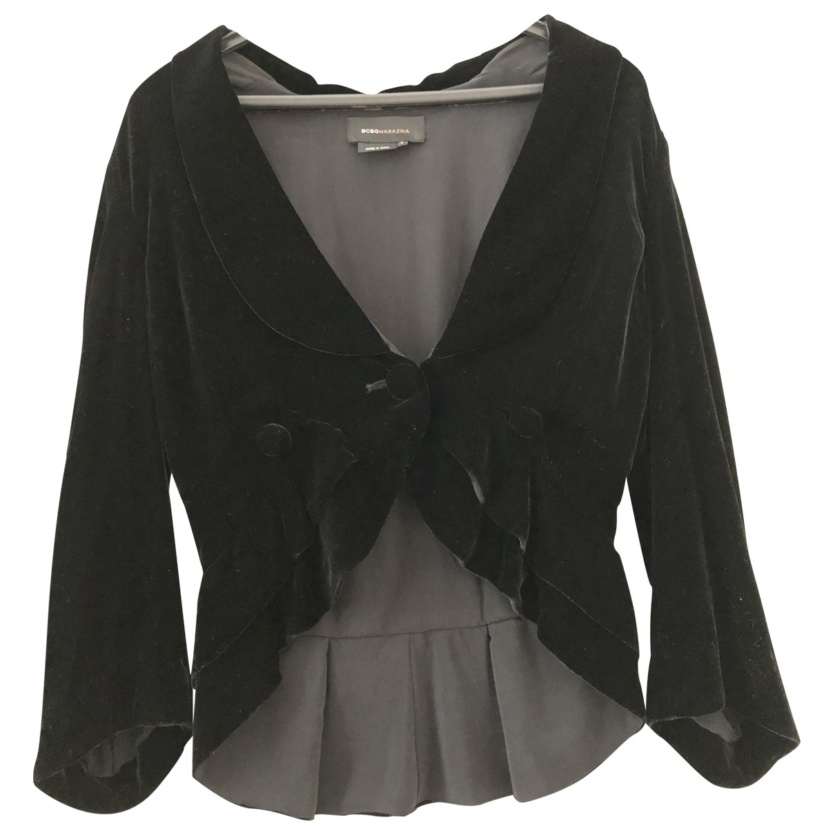 Bcbg Max Azria \N Black Velvet jacket for Women S International