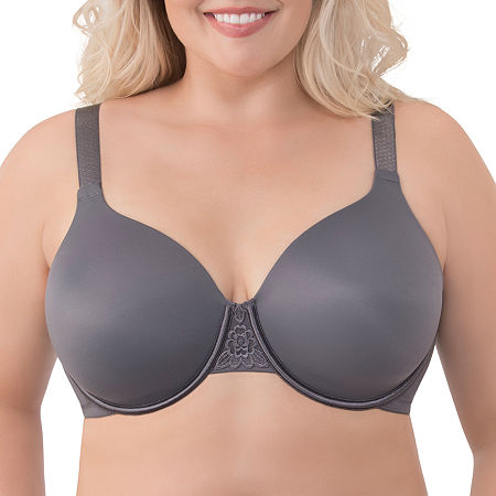 Vanity Fair Beauty Back Full-Figure Back-Smoothing Underwire Bra - 76380, Dd , Gray