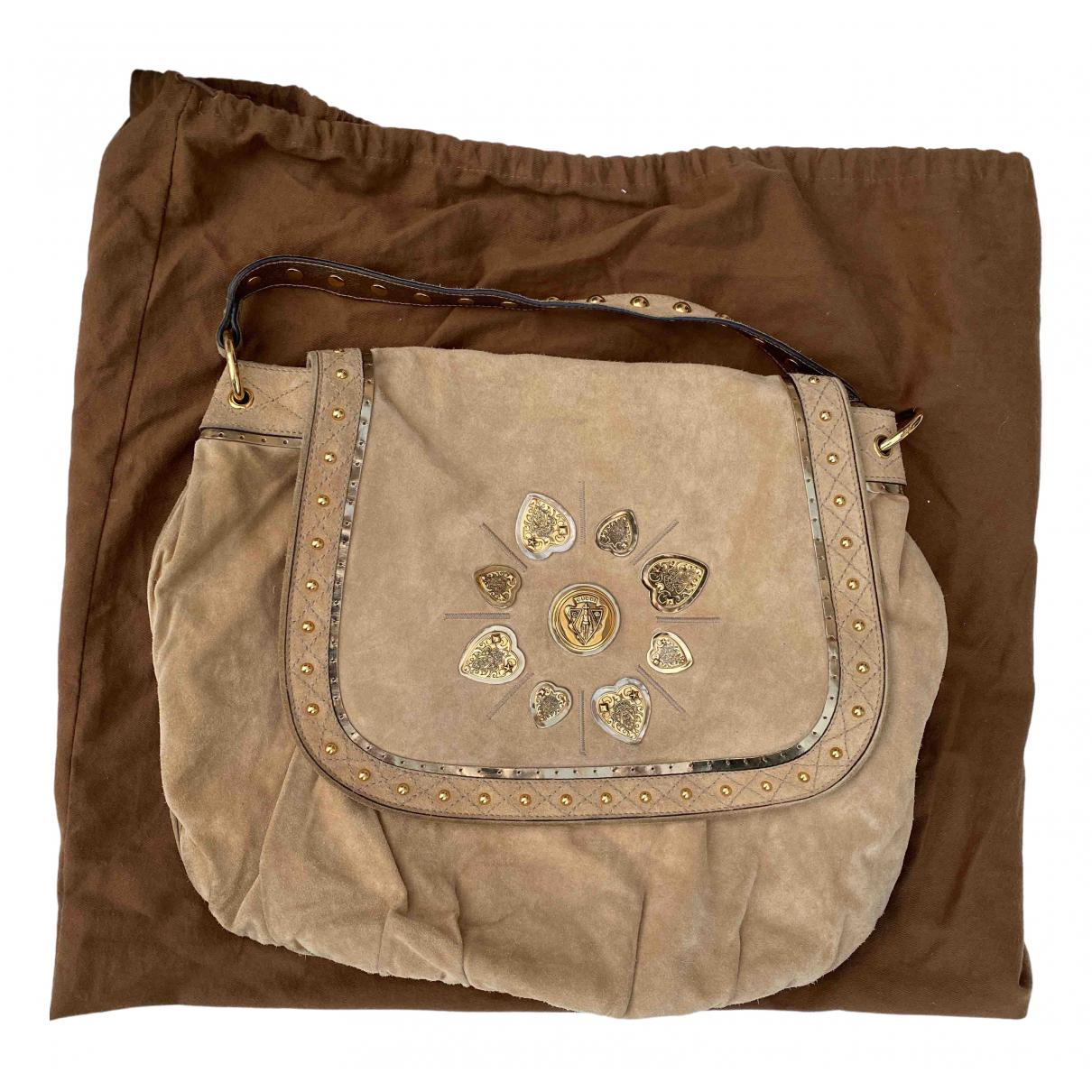 Gucci \N Beige Suede handbag for Women \N