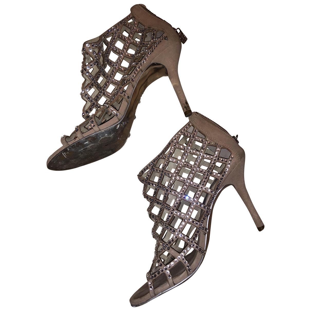 Michael Kors \N Beige Leather Heels for Women 37 EU