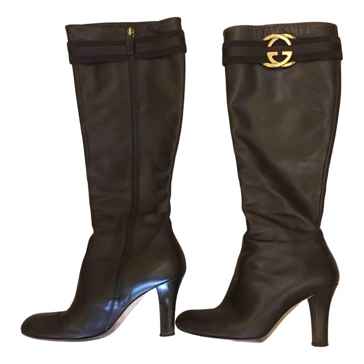 Botas de Cuero Gucci